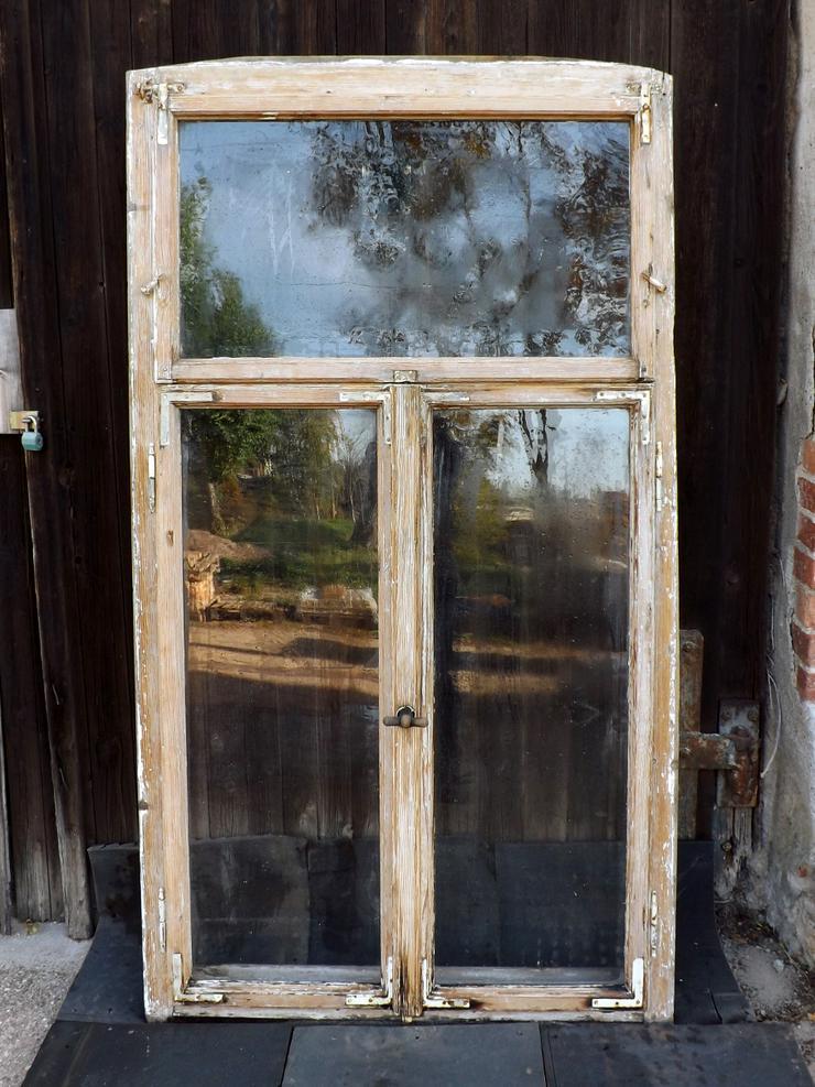 alte Historische Holz fenster Gründerzeit Villa Antik Fenster Wintergarten Vordach Tiny House Gewächshaus DIY - Fenster - Bild 1