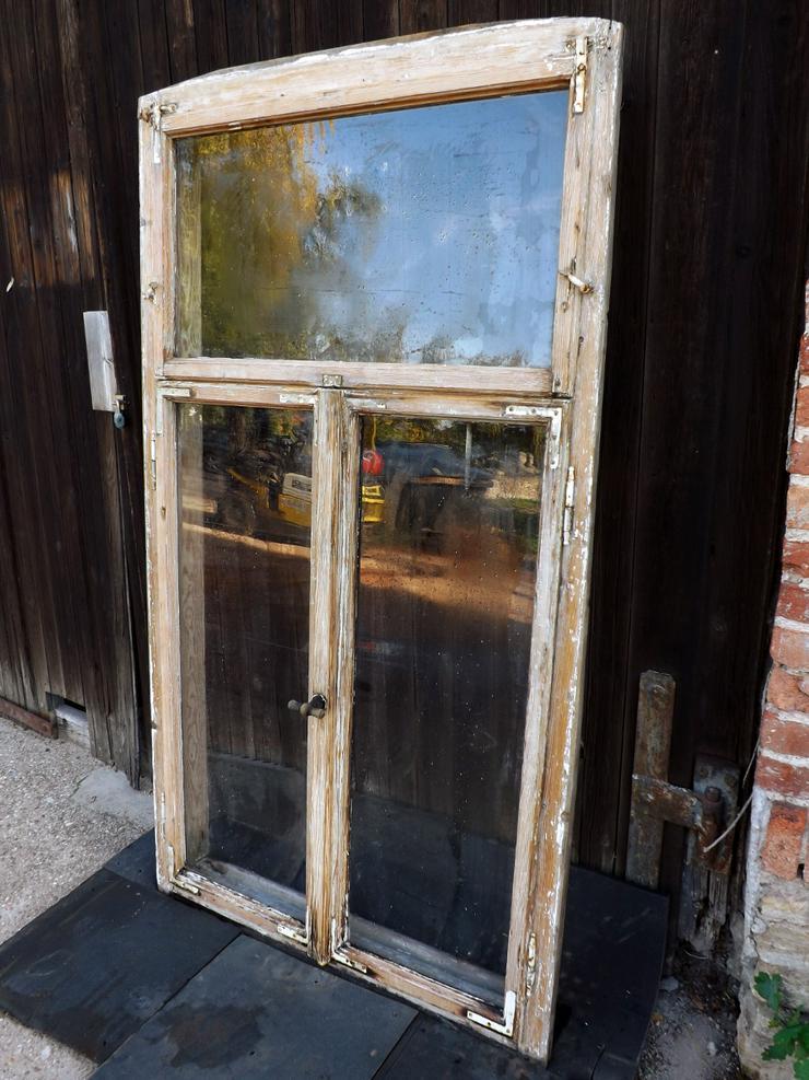 Bild 2: alte Historische Holz fenster Gründerzeit Villa Antik Fenster Wintergarten Vordach Tiny House Gewächshaus DIY