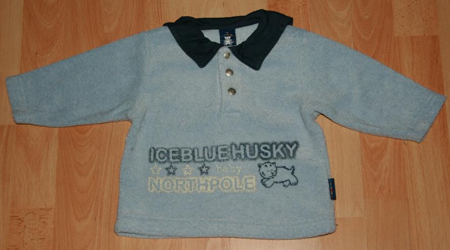 "Bild 3: SET - Sweat-Shirt & Hose - Größe 74 - Matrosenkragen - ""Husky"""