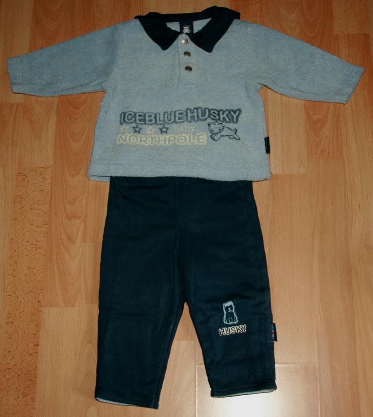 "Bild 2: SET - Sweat-Shirt & Hose - Größe 74 - Matrosenkragen - ""Husky"""