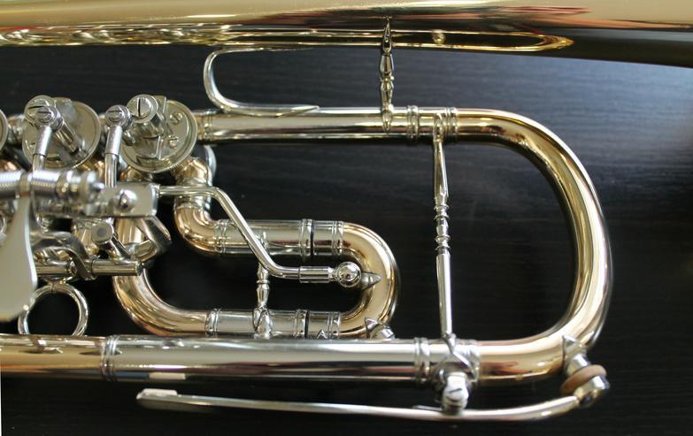 Bild 5: Deutsche C - Konzert - Trompete, Goldmessing + Tonausgleich
