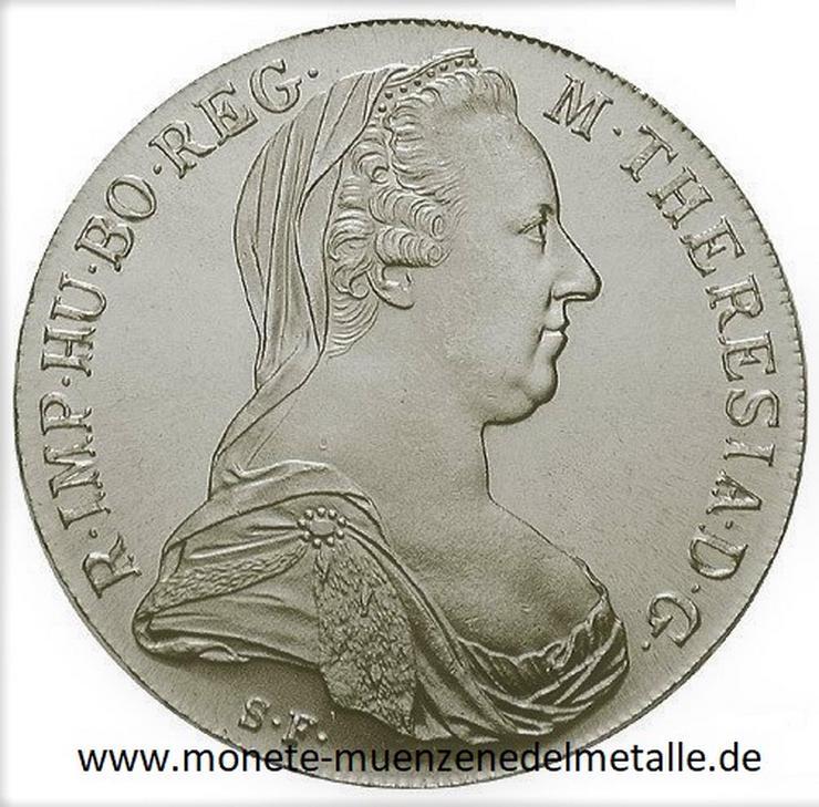 Österreich 1 Taler Maria Theresia  Silber Münze