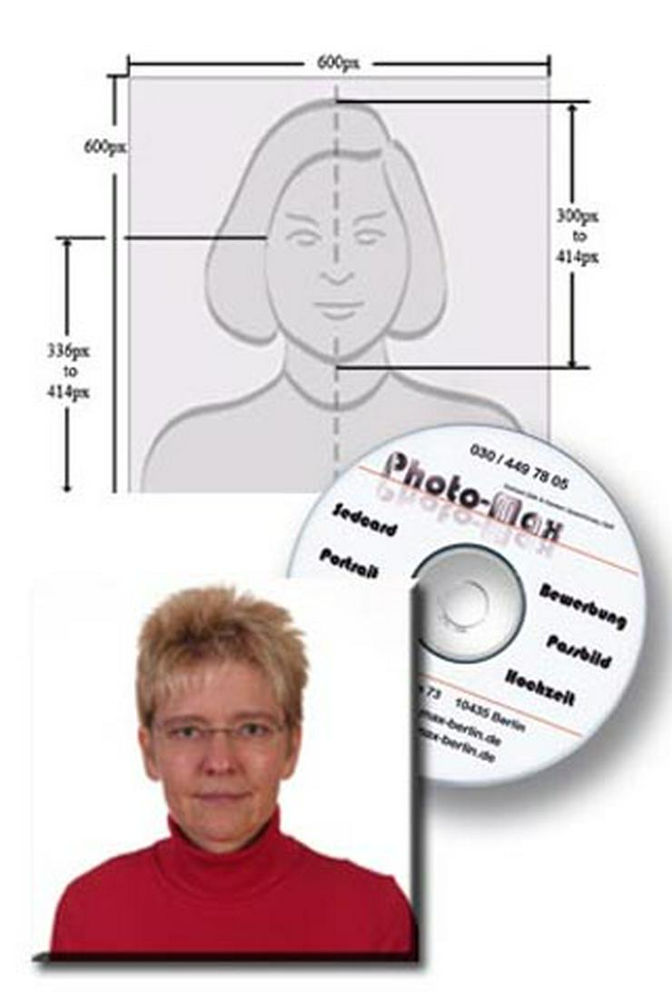 Biometric passport photographs for the US passport and visas for the United States