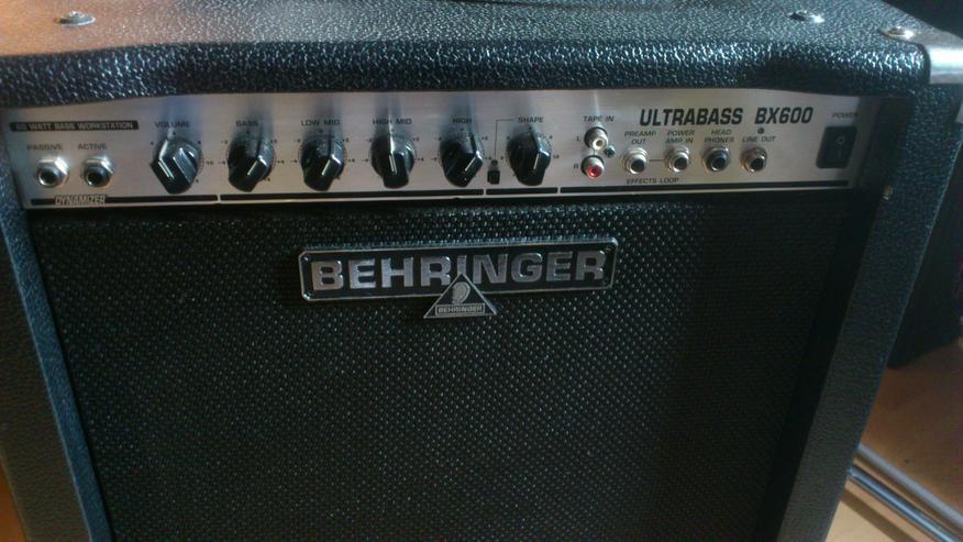 Combo Verstärker Behringer Ultrabass BX600 - Verstärker & Effekterzeugung - Bild 1