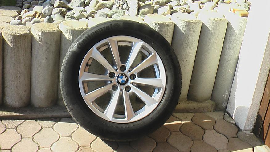 5er BMW Original Alu-Felgen mit Winterreifen Pirelli