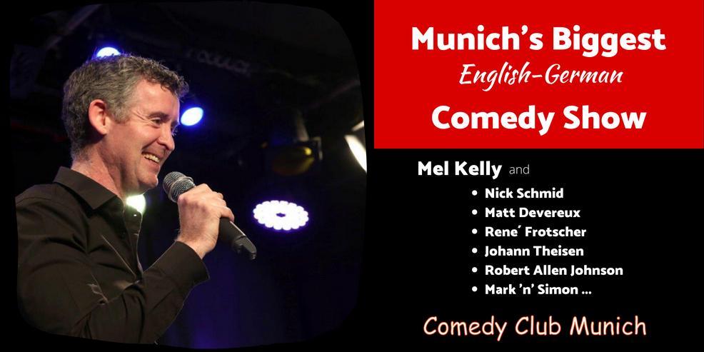 Munich's Biggest English-German Comedy Show in Munich