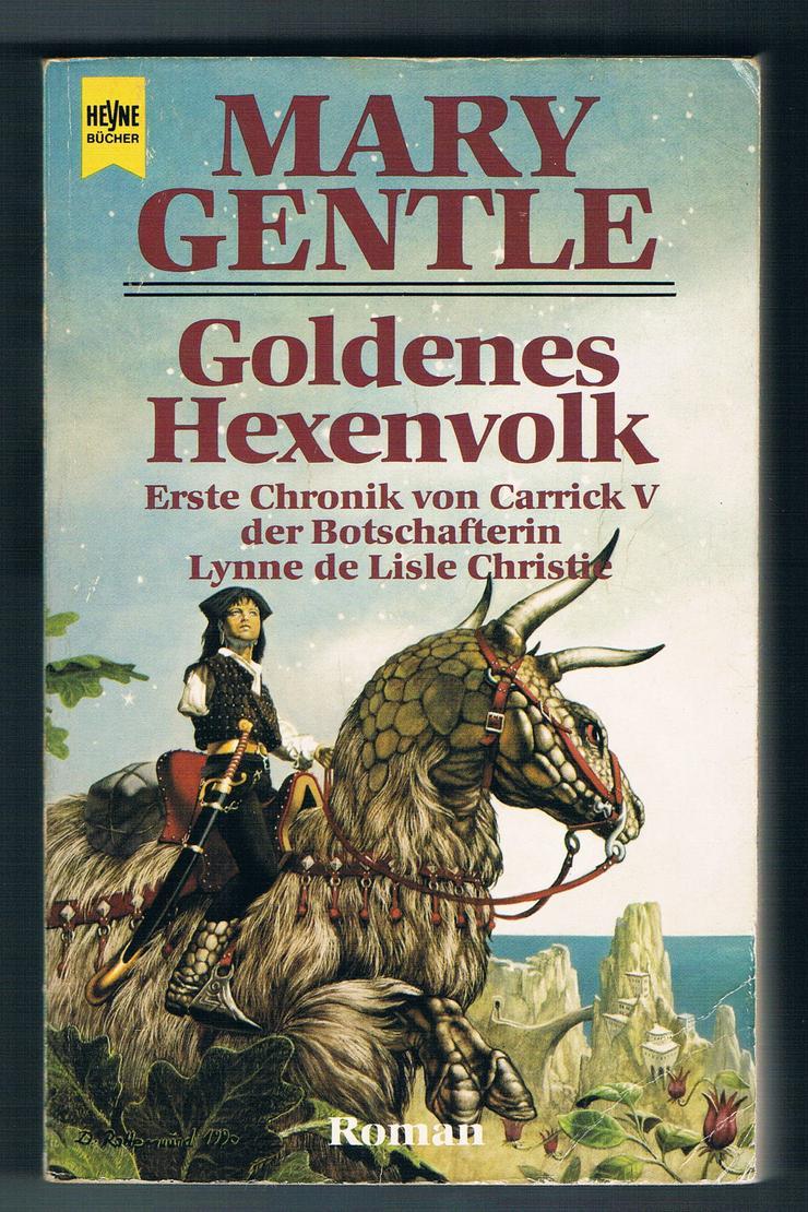 Bild 3: Goldenes Hexenvolk und Altes Licht. 2 Fantasy-Romane von Mary Gentle.