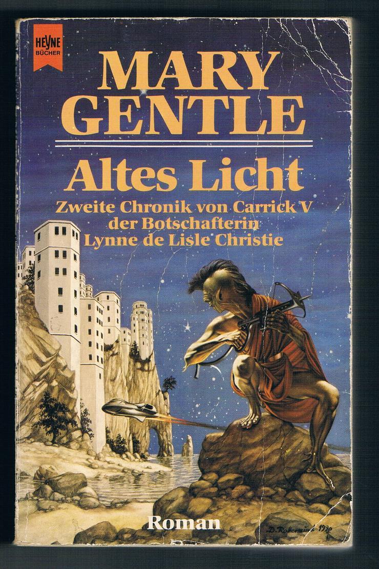 Goldenes Hexenvolk und Altes Licht. 2 Fantasy-Romane von Mary Gentle.