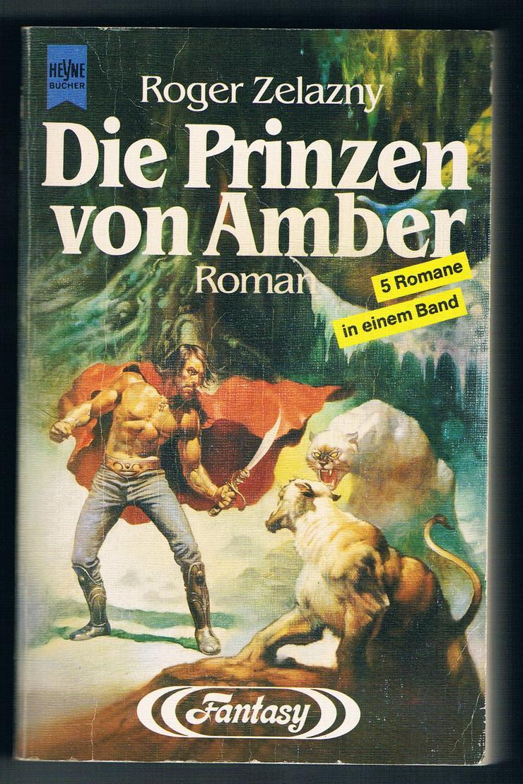 Die Prinzen von Amber. Fantasy-Roman von Roger Zelazny.