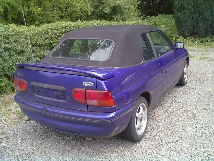 Bild 2: Scheinwerfer und Rückleuchten für Ford Escort XR3i 1,8 16V  77 KW/ 105 PS  Bauj. 92-95