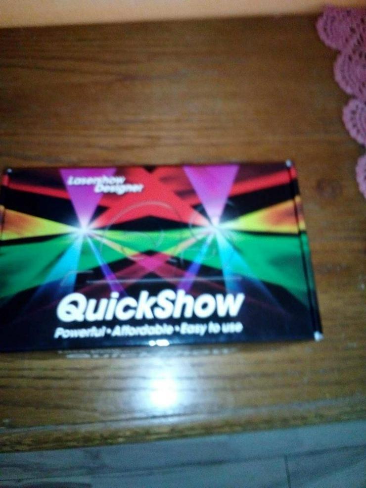 Neue Pangoline Qickshow  Laser Software