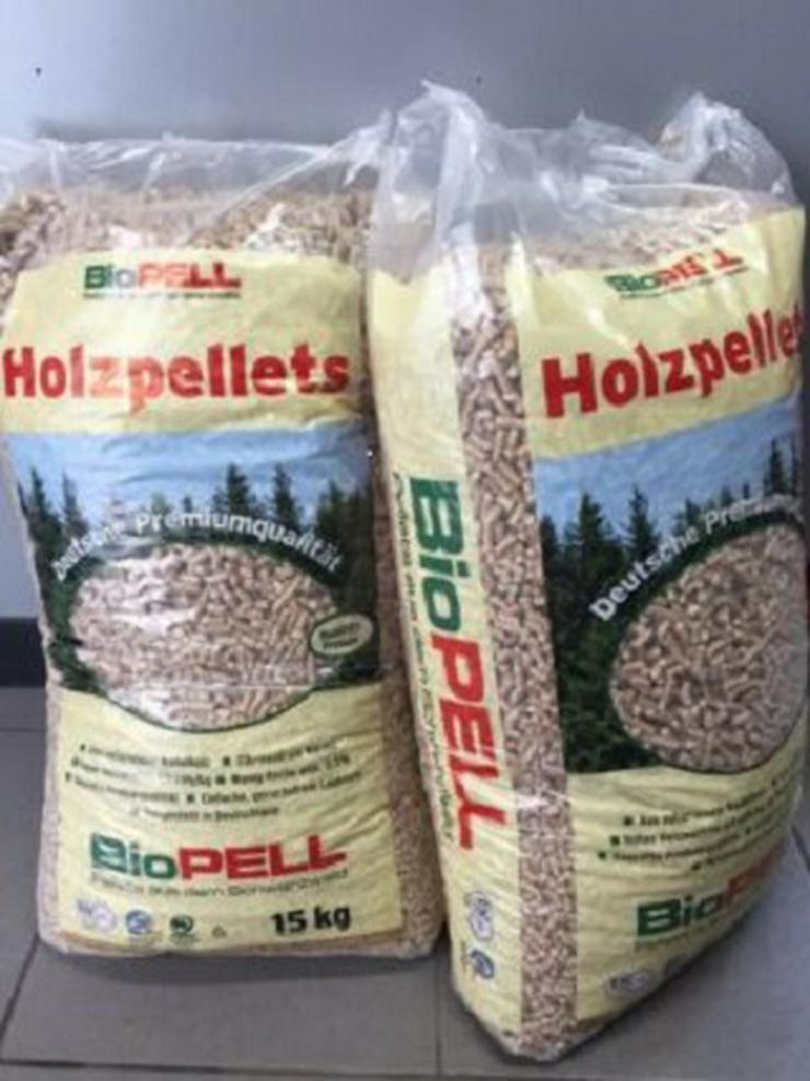 BioPELL Holzpellets 6 mm in Säcken a 15 KG