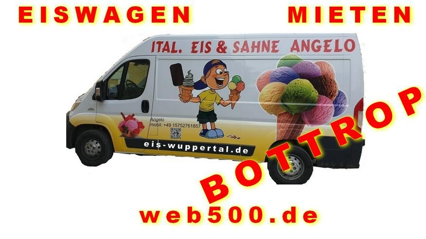 🍨🍧 Unser EISWAGEN 🚙 mieten für Bottrop Umgebung 🍨🍧 Hochzeit Messe Firmen Veranstaltung
