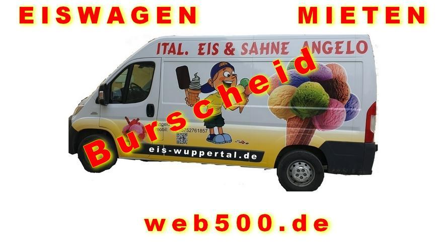 Burscheid Umgebung 🍨🍧 Eismobil EISWAGEN 🚙 mieten  🍨🍧 Hochzeit Messe Firmen Veranstaltung