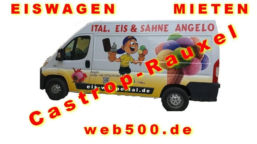 Castrop-Rauxel Umgebung 🍨🍧 Eismobil EISWAGEN 🚙 mieten  🍨🍧 Hochzeit Messe Firmen Veranstaltung