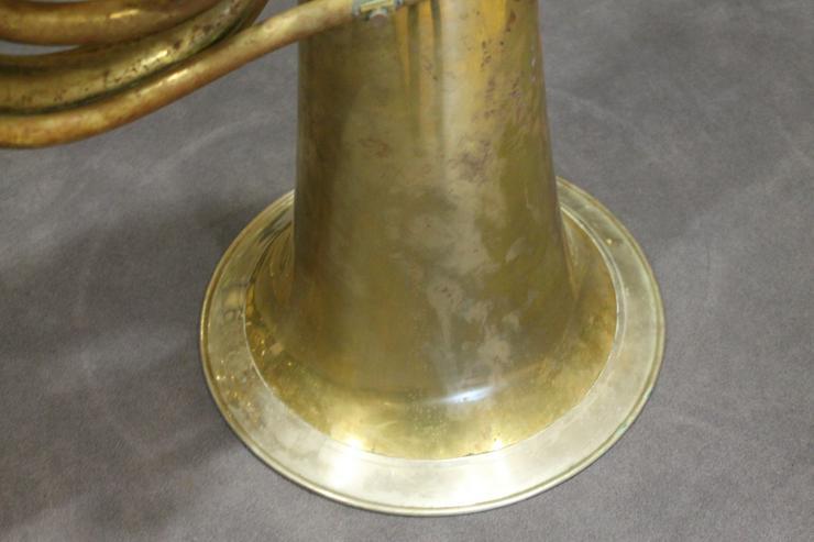 Bild 2: Deutsche B - Tuba, Aug. Clemens Glier Markneukirchen
