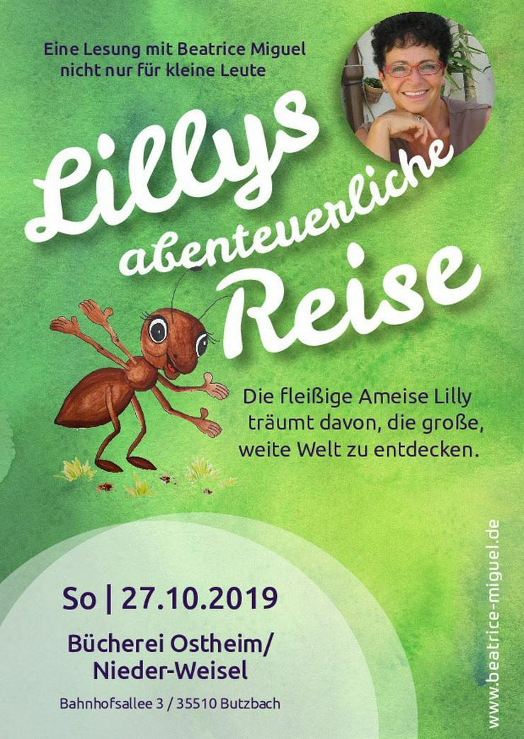 """""""Lillys abenteuerliche Reise fängt in Butzbach-Ostheim an"""" mit Beatrice Miguel."""
