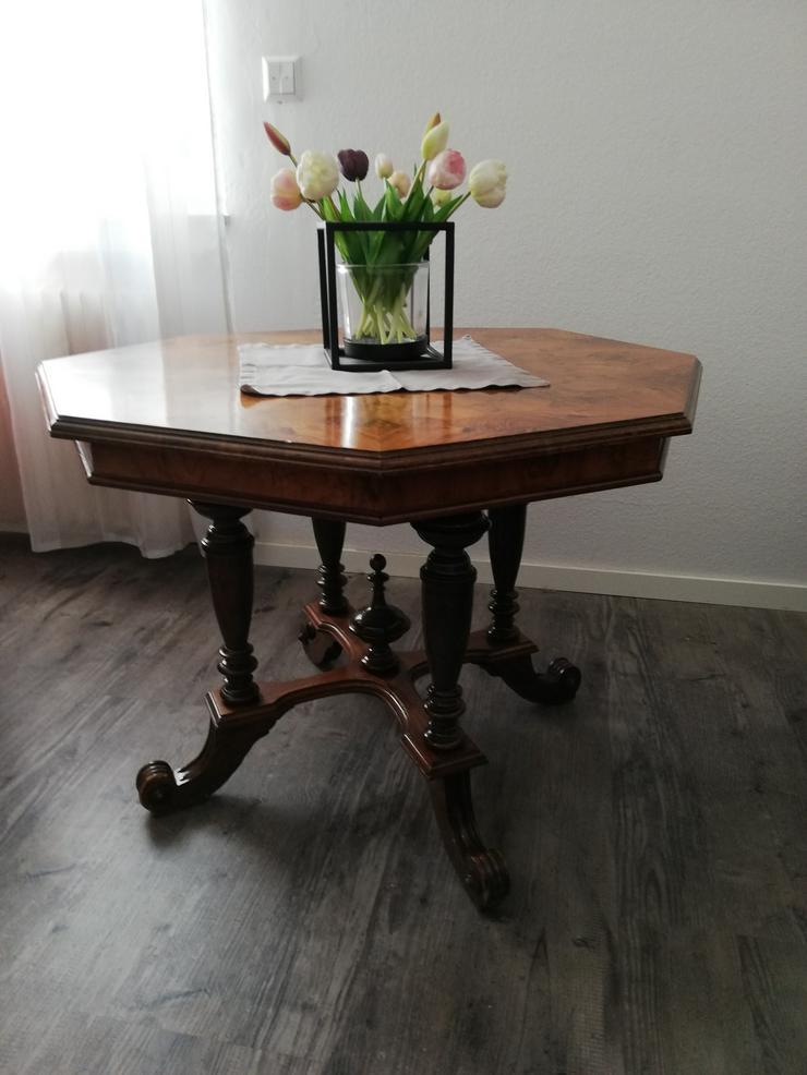 schönen 8 Eckigen Tisch - Tische - Bild 1