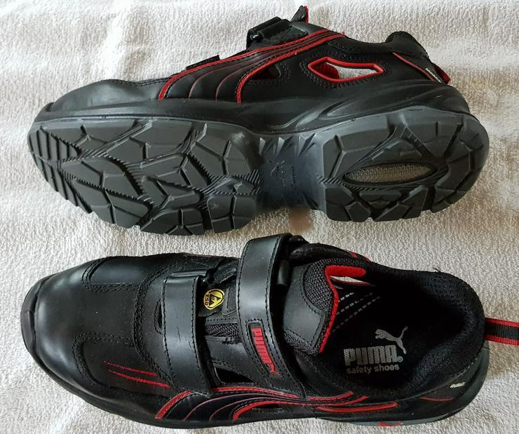 Puma ESD Schuhe mit Klettverschluss Größe 42