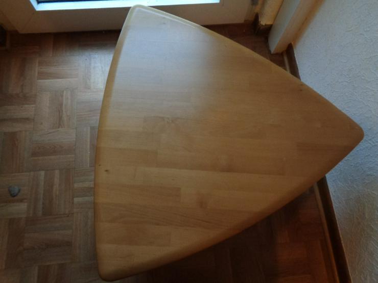 Bild 5: Sofatisch Massivholz? dreieckig mit abgerundeten Ecken