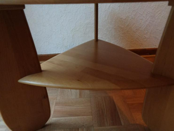 Bild 4: Sofatisch Massivholz? dreieckig mit abgerundeten Ecken