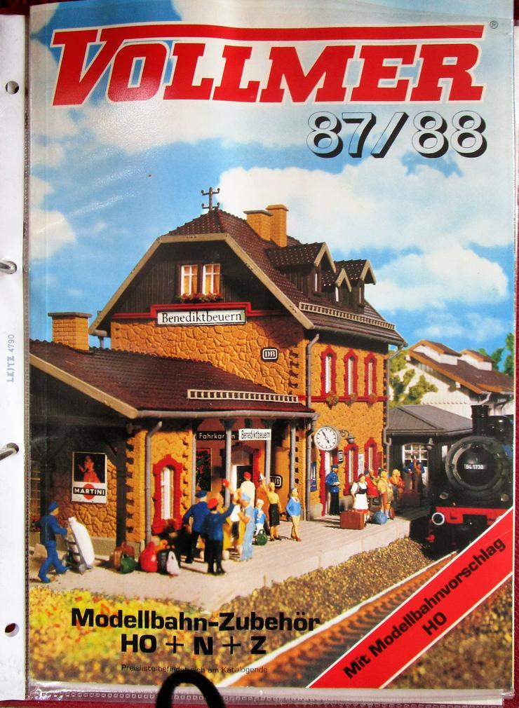 Kataloge für Modellbahn / Bau