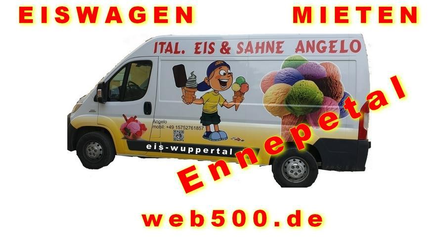 Ennepetal Umgebung 🍨🍧 Eismobil EISWAGEN 🚙 mieten  🍨🍧 Hochzeit Messe Firmen Veranstaltung - Party, Events & Messen - Bild 1