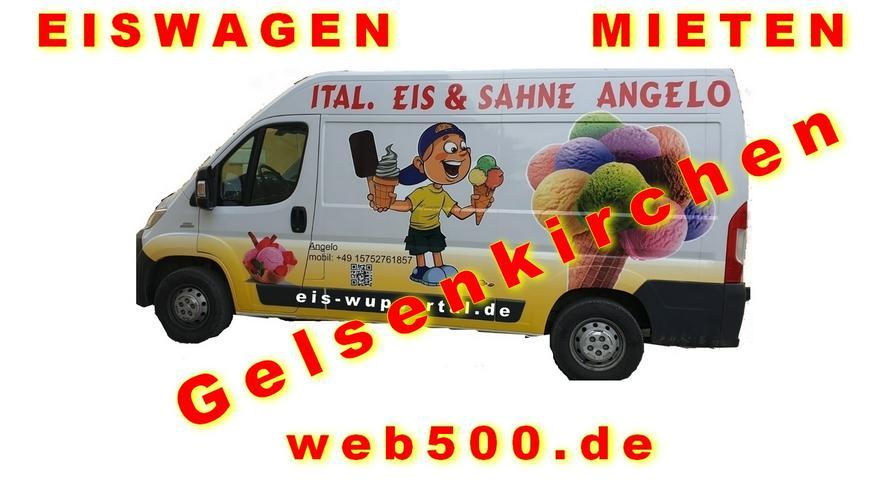 Gelsenkirchen Umgebung 🍨🍧 Eismobil EISWAGEN 🚙 mieten  🍨🍧 Hochzeit Messe Firmen Veranstaltung - Party, Events & Messen - Bild 1