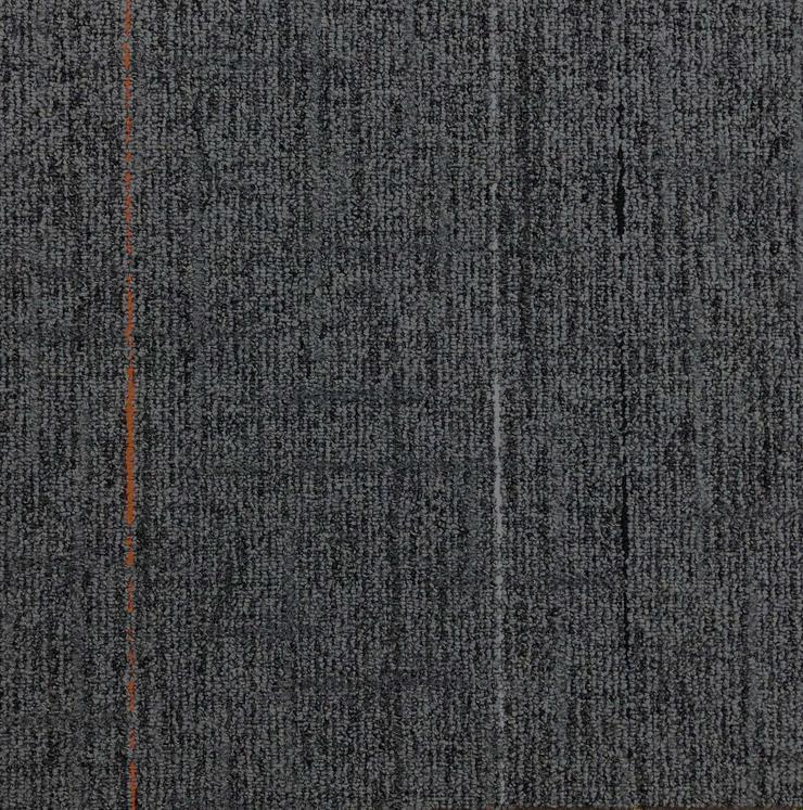 Sehr schöne graue Interface Teppichfliesen mit einem Motiv
