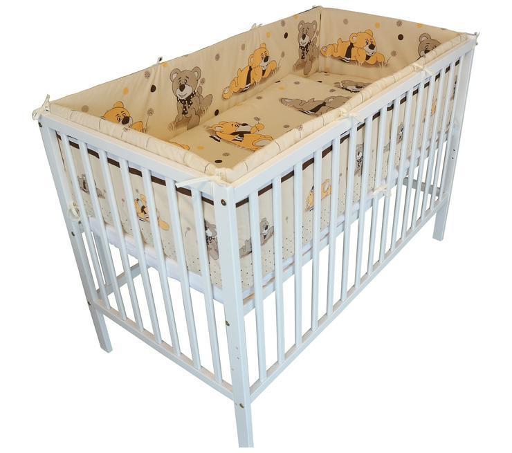 Bettnestchen Nestchen 360/420x30 Bettumrandung Babyzimmer Bettausstattung Baby