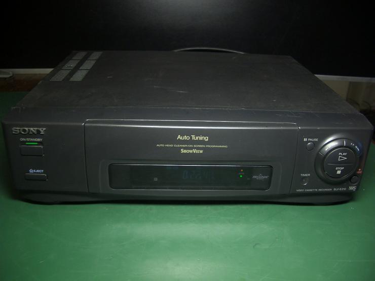 Sony SLV-E210 Videorecorder mit Scart, VPS