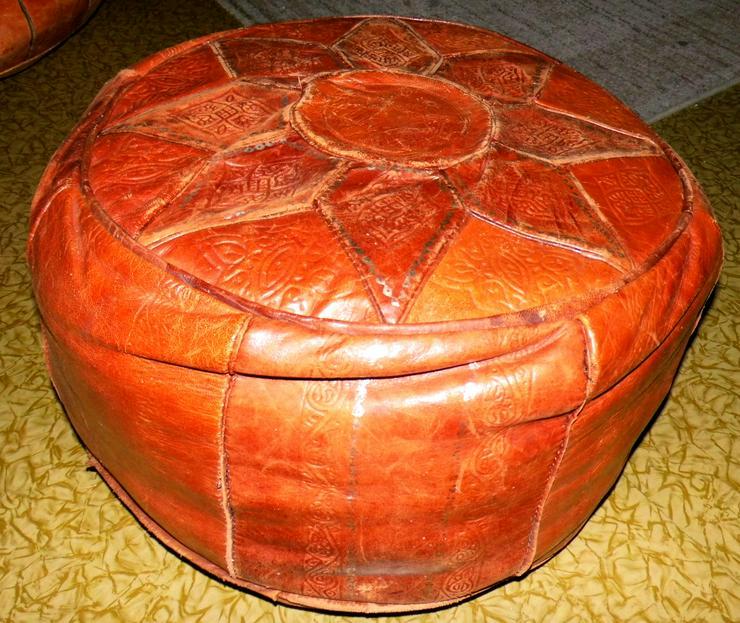 2 original Tunesische handgefertigte Sitzkissen