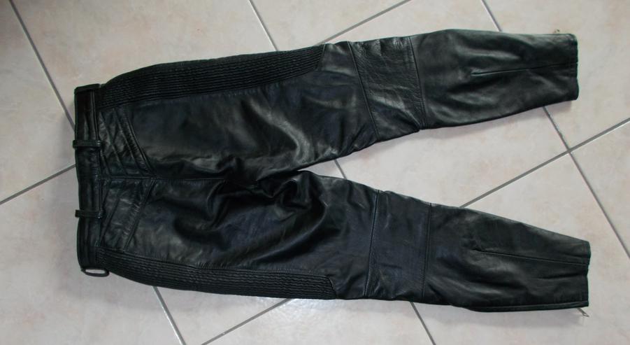 Bild 2: Motorradlederhose in Größe 38