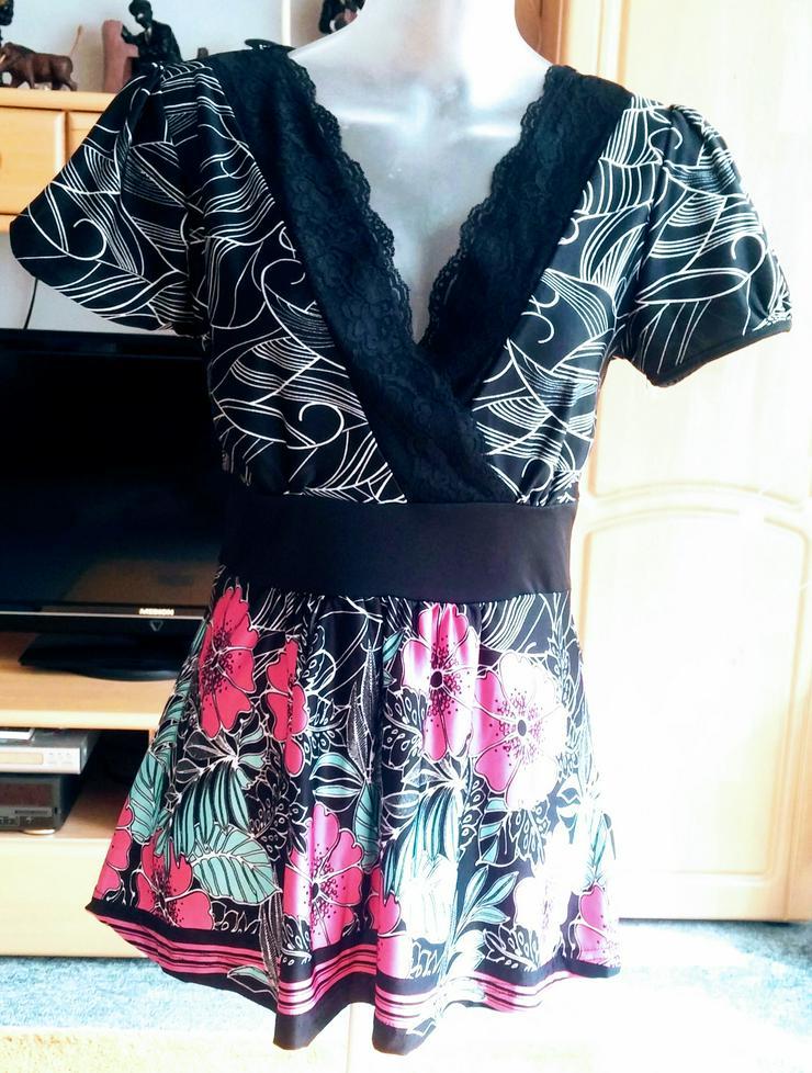 NEU Damen Tunika Sommer Bluse Gr.36/38 von bonprix NW
