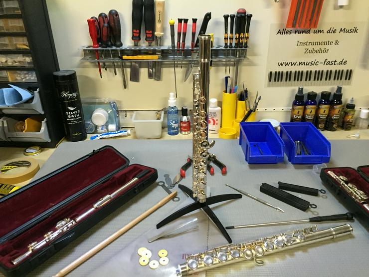 Werkstatt für Querflöten Reparatur Flötenreparatur
