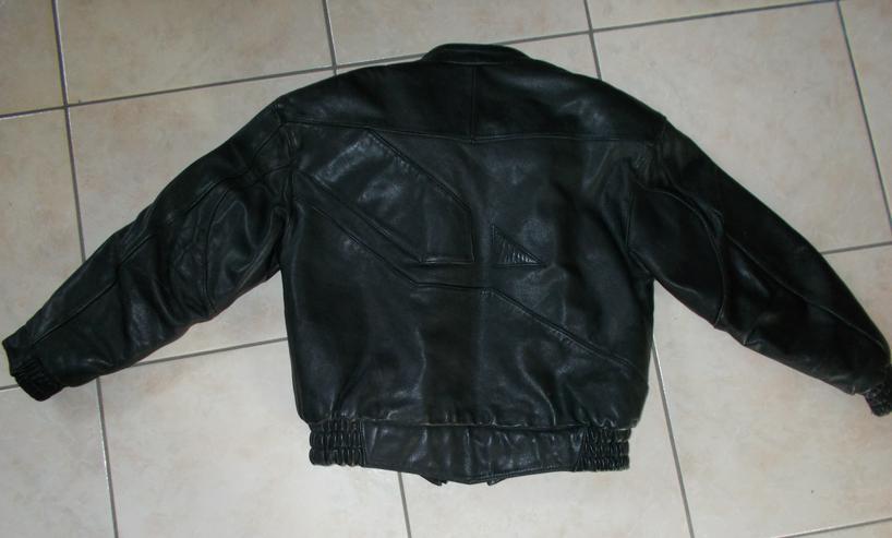 Bild 3: Motorradlederjacke in Größe S