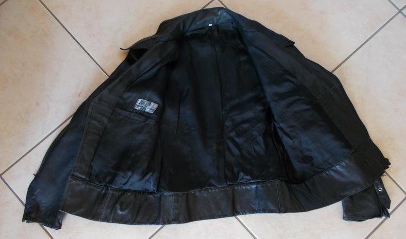 Bild 2: Motorradlederjacke in Größe 48