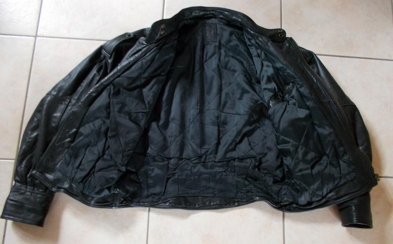 Bild 2: Motorradlederjacke in Größe 52