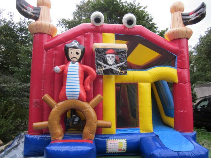 """Hüpfburg """"Piratenburg"""" zum Verleih *** 25% Rabatt/Tag *** - Party, Events & Messen - Bild 1"""