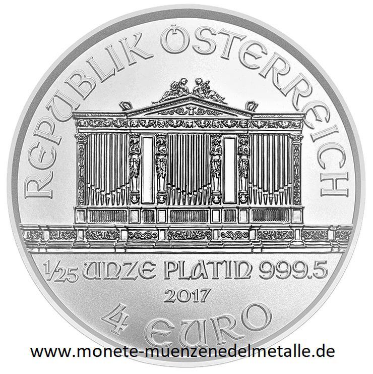 Österreich 4 Euro Wiener Phiharmoniker 2019 Platin Münze