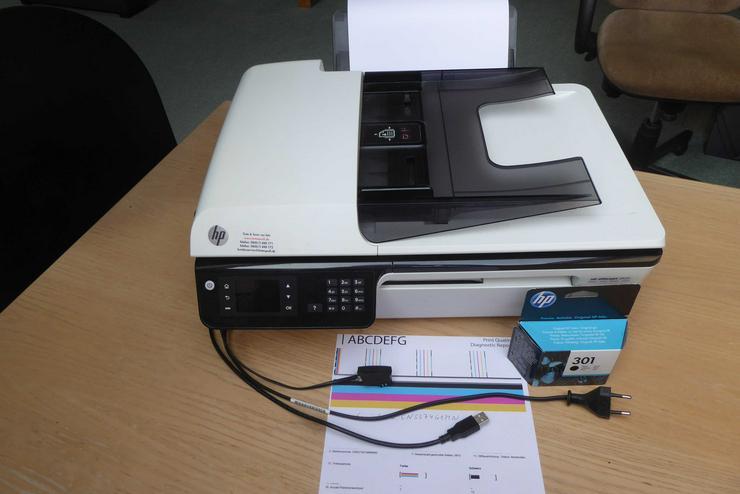 HP 2620 Multifunktionsdrucker Scanner Fax - Multifunktionsgeräte - Bild 1