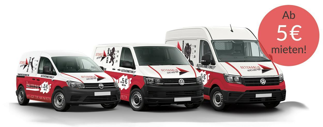 Bild 8: GETCHARLIE Transportervermietung Autovermietung Sprinter Mieten