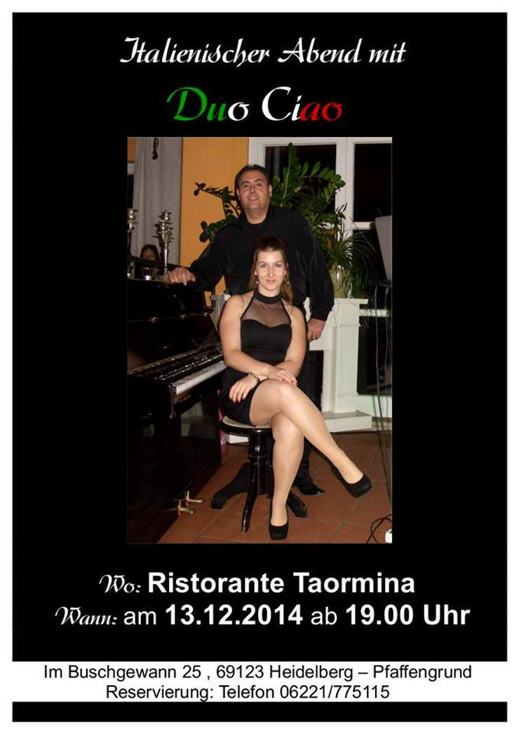 Band-Duo/Triociao für Italienische, Deutsch Live Musik.