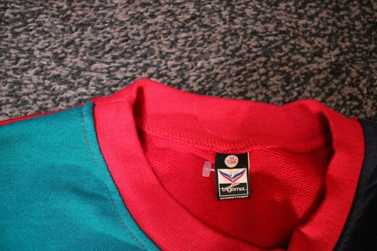 Bild 4: Sweatshirt, Gr. 48, Trigema, rot-blau-grün