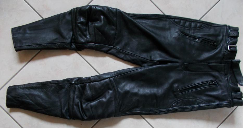 Motorradlederhose in Größe 48