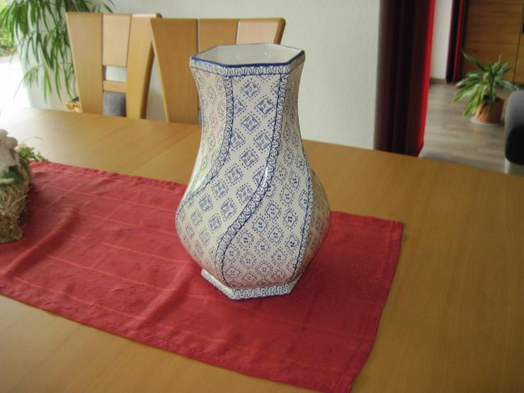 Bild 6: Italienische Vase aus Porzellan, Porzellanvase, Handarbeit