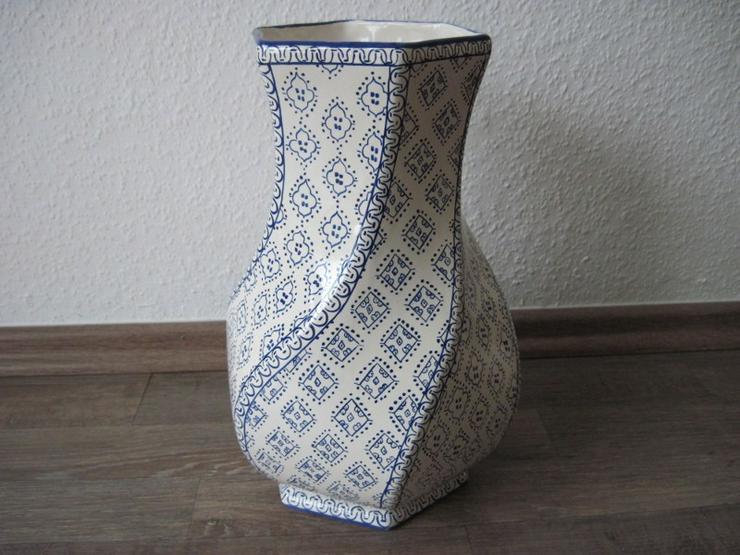 Bild 4: Italienische Vase aus Porzellan, Porzellanvase, Handarbeit