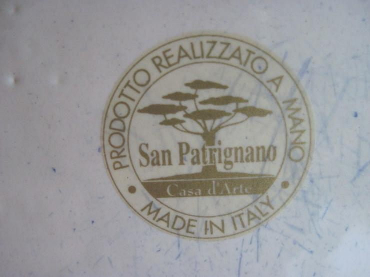Bild 5: Italienische Vase aus Porzellan, Porzellanvase, Handarbeit