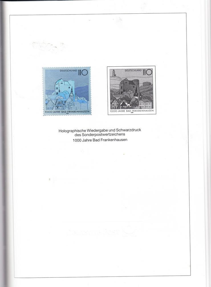 Bild 2: Bund Jubiläumsjahrbuch 1998 mit Hologramm und 2 Abarten
