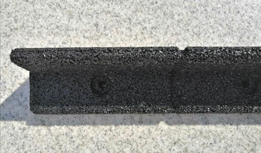 Bild 5: 6 Meter Flexible Rasenkante mit Radlauf. Beetumrandung